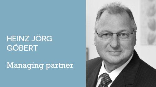Image of Heinz Jörg Göbert - managing partner