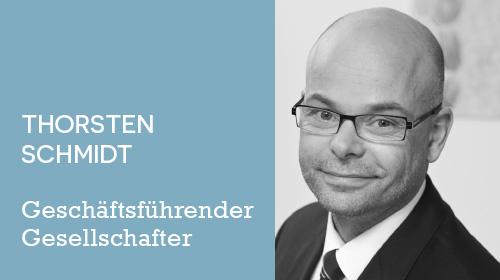 Thorsten Schmidt - Geschäftsführender Gesellschafter