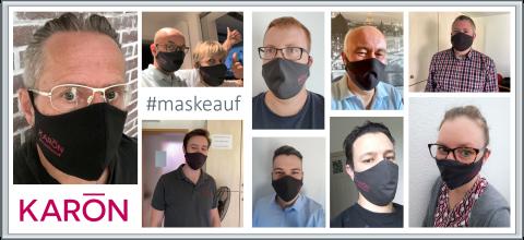 KARŌN #maskeauf