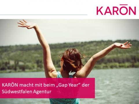 """KARŌN macht mit beim """"Gap Year"""""""