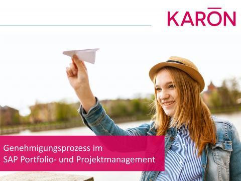 Genehmigungsprozess im SAP Portfolio- und Projektmanagement
