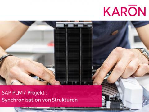 SAP PLM7 Projekt : Synchronisation von Strukturen