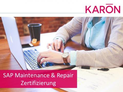 SAP Maintenance & Repair Zertifizierung